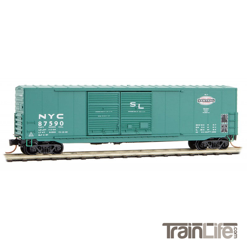 N Scale: 50' Standard Boxcar - New York Central