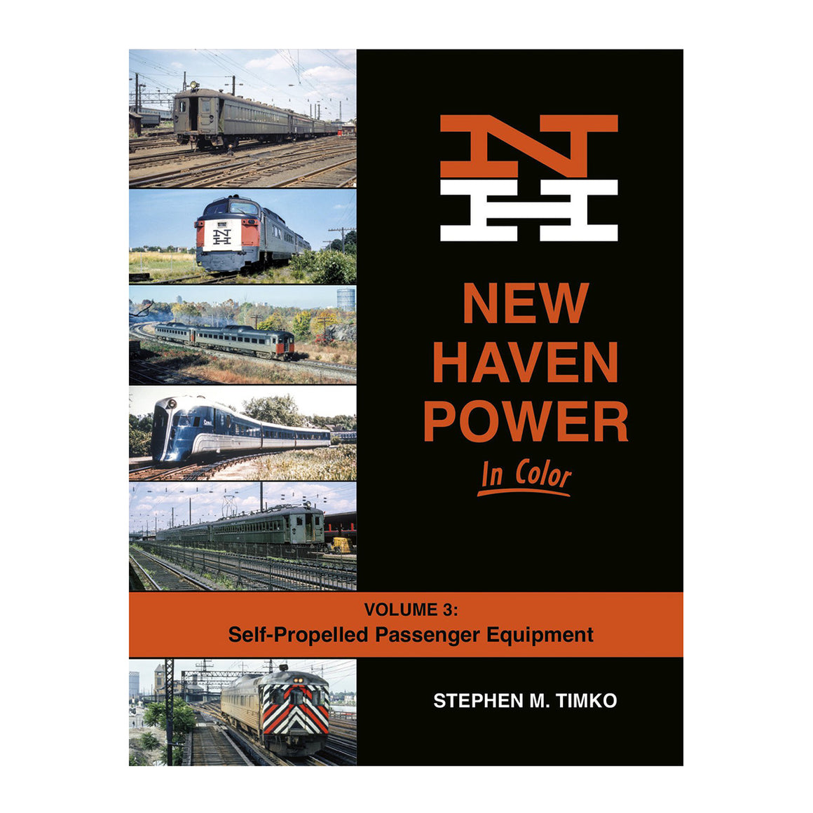 Books: New Haven Power In Color Volume 3: Self-Propelled Passenger Equipment
