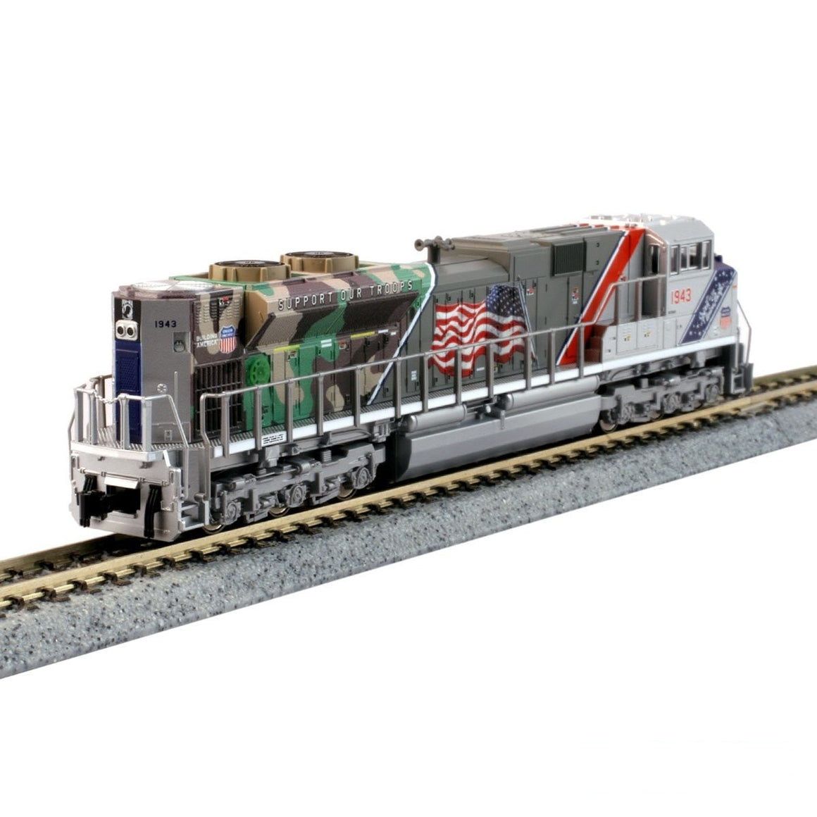 N Scale: EMD SD70ACe - DC - Spirit of the Union Pacific '1943'