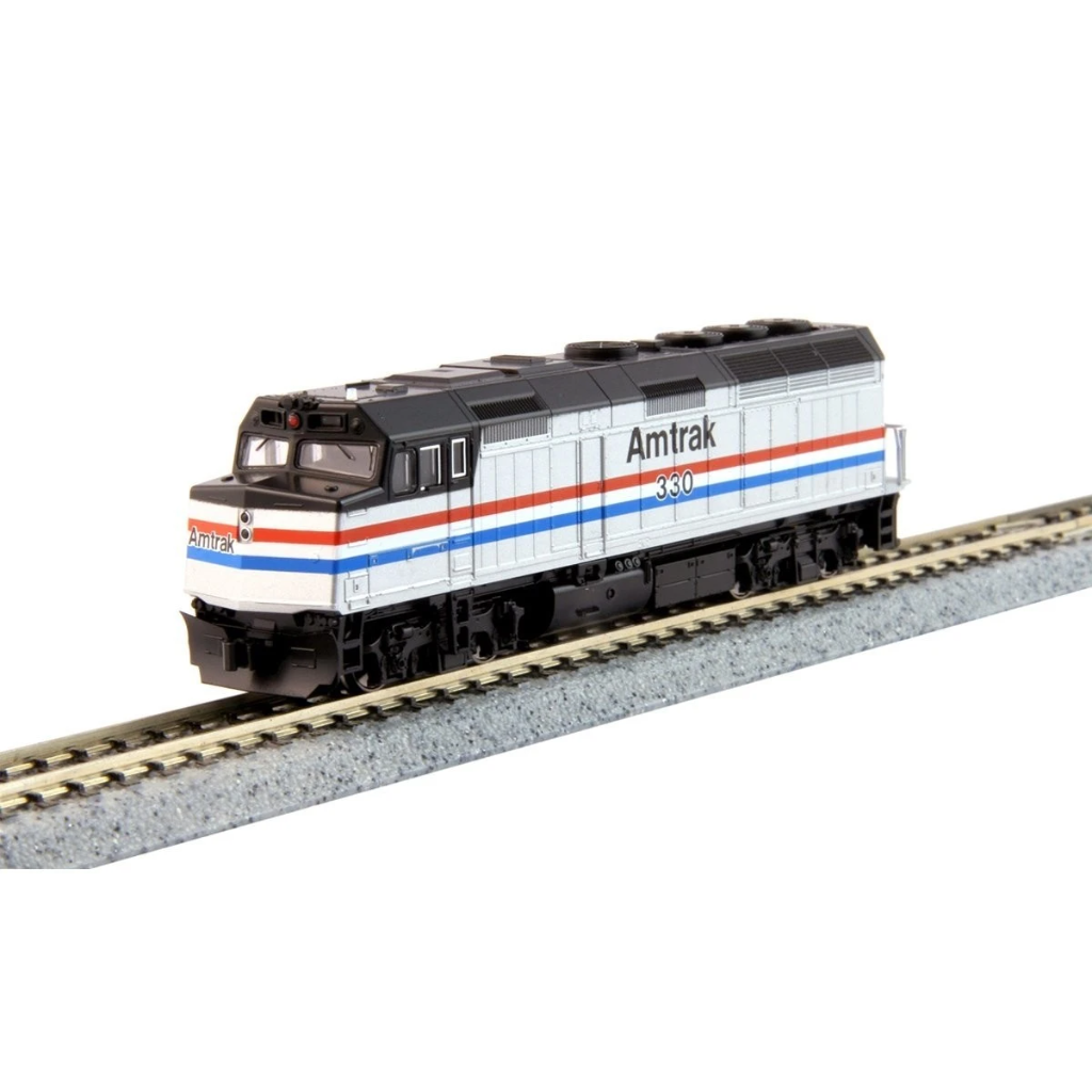 N Scale: EMD F40PH Phase III - DC - Amtrak