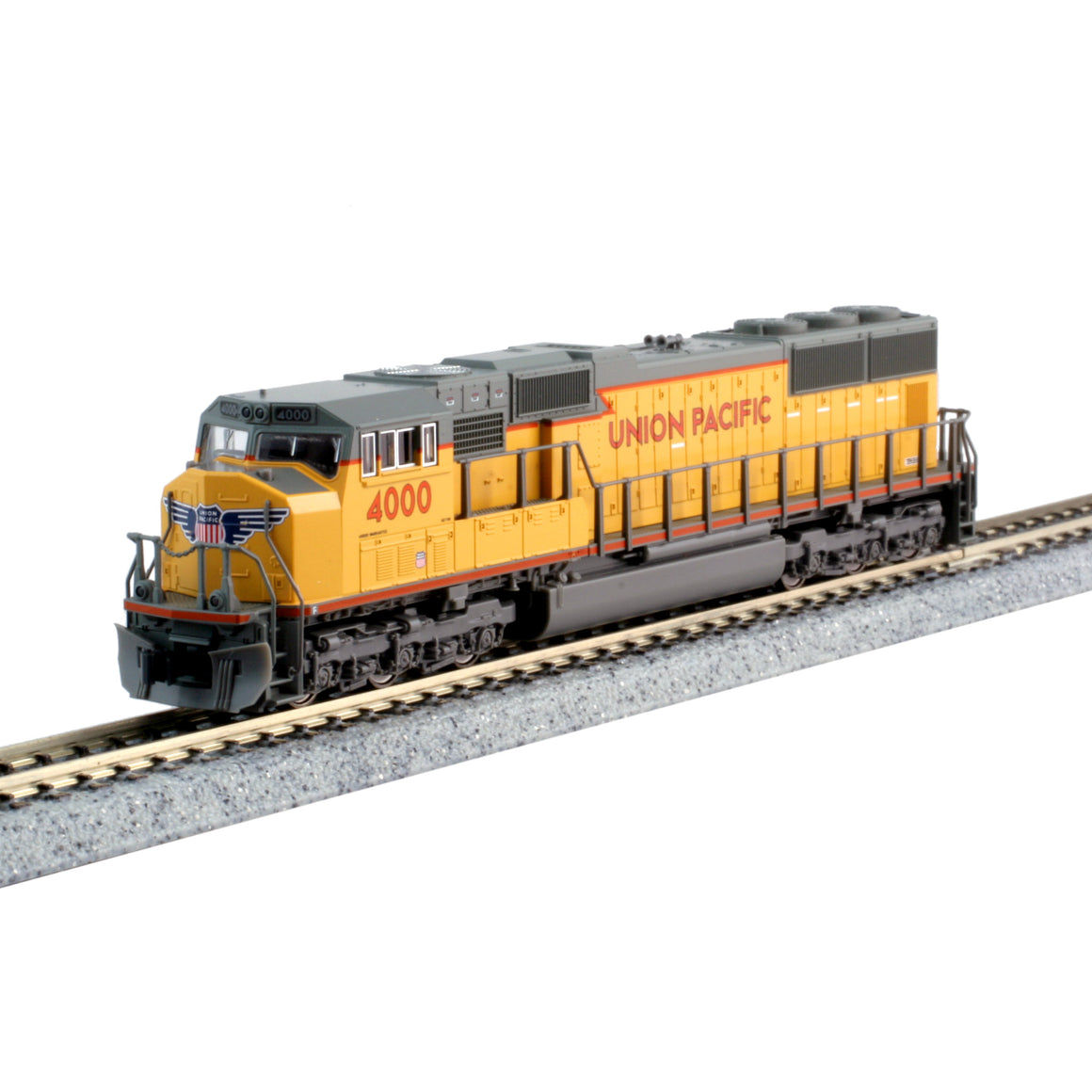 N Scale: EMD SD70M - DCC Ready  - Union Pacific