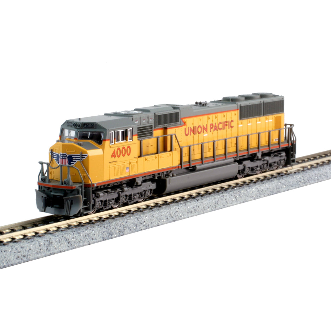 N Scale: SD70M - DCC Equipped - Union Pacific