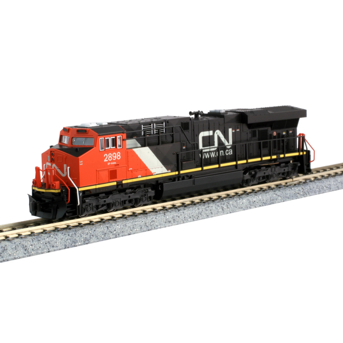 N Scale: ES44AC - DCC Equipped - Canadian National