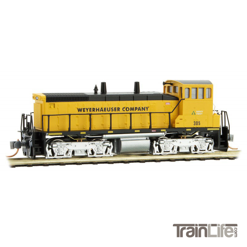 N Scale: Weyerhaeuser Logging Train Set