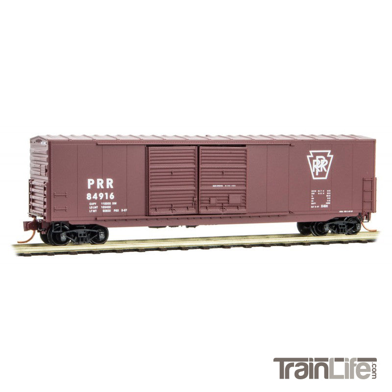 N Scale: 50' Standard Boxcar - Pennsylvania Railroad
