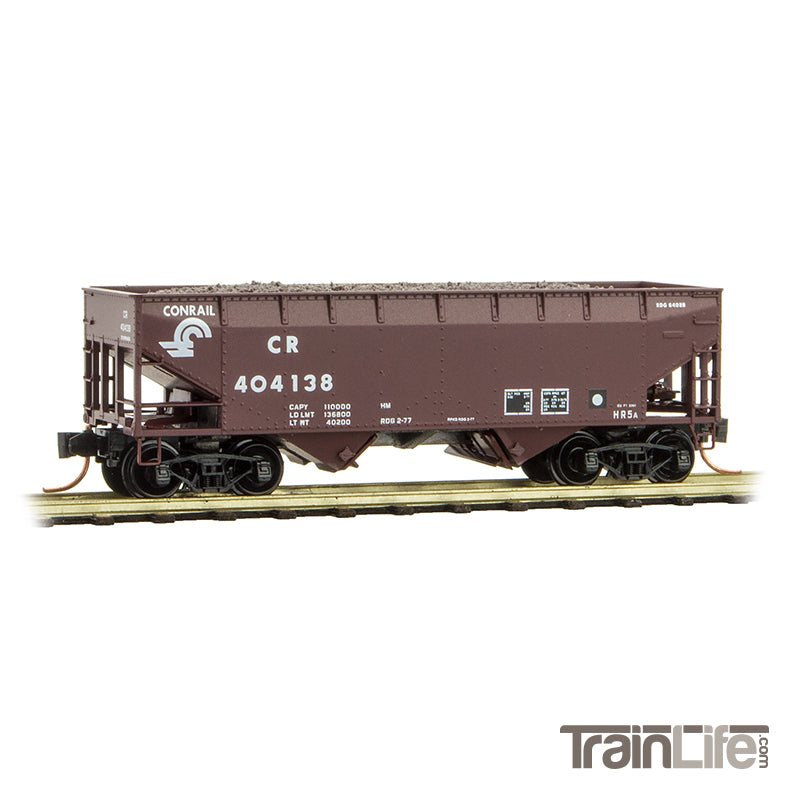 N Scale: 33' Twin Bay Hopper - Conrail