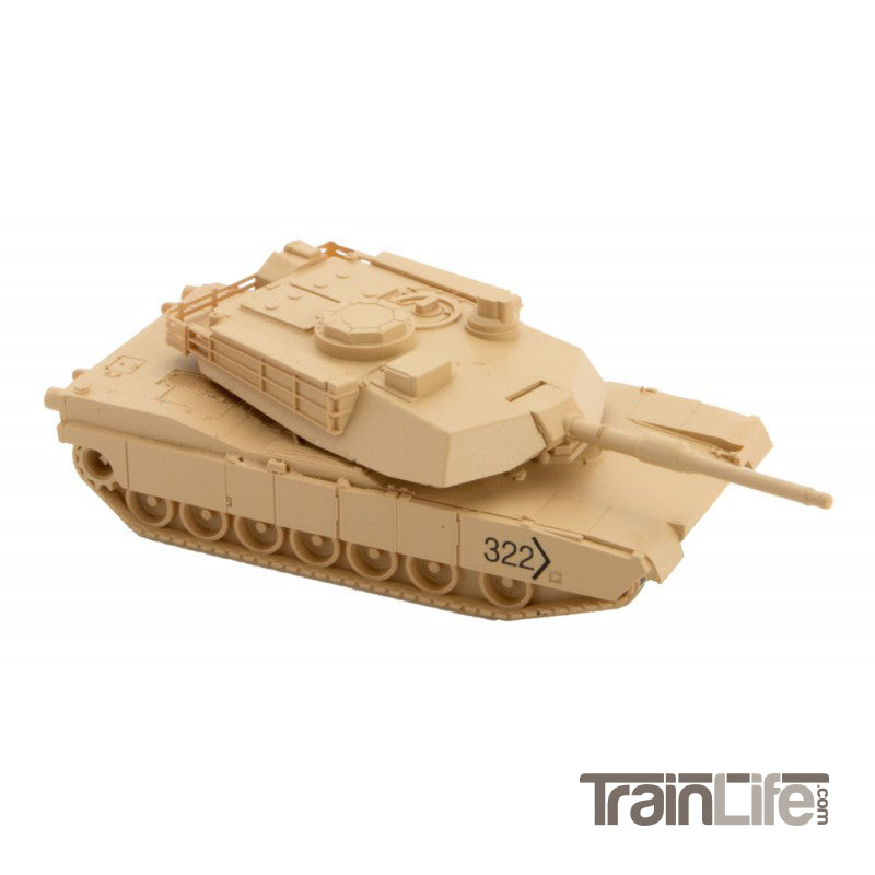 N Scale: M1 Abrams Tank - 2 Pack - Kit