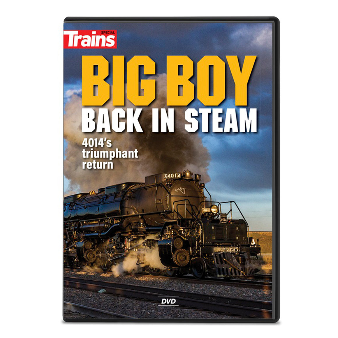 DVD: Big Boy Back in Steam