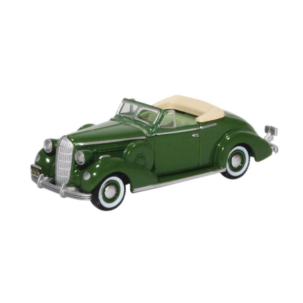 HO Scale: 1936 Buick Special Convertible - Balmoral Green