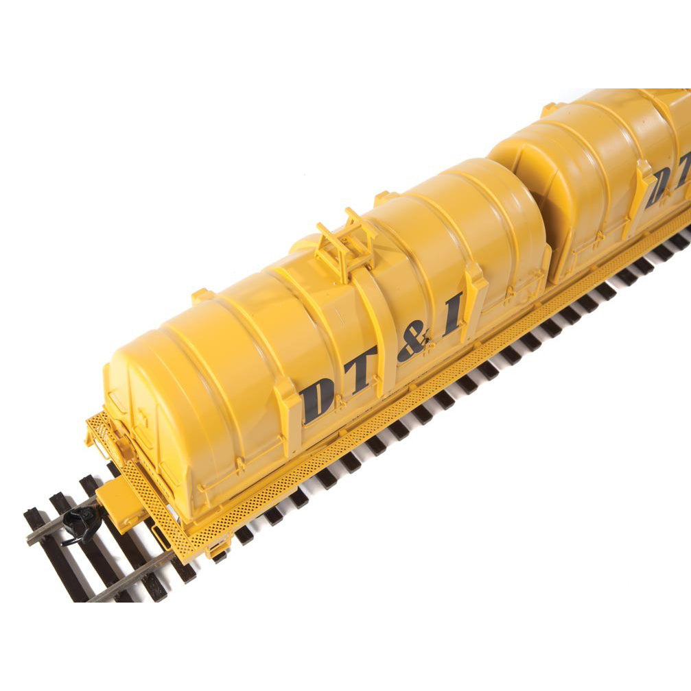 HO Scale: Evans 50' Cushion Coil Car - Detroit, Toledo & Ironton