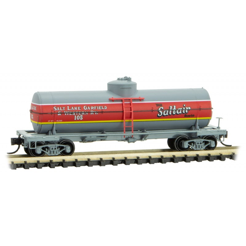N Scale: 39' Single Dome Tank Car - Saltair