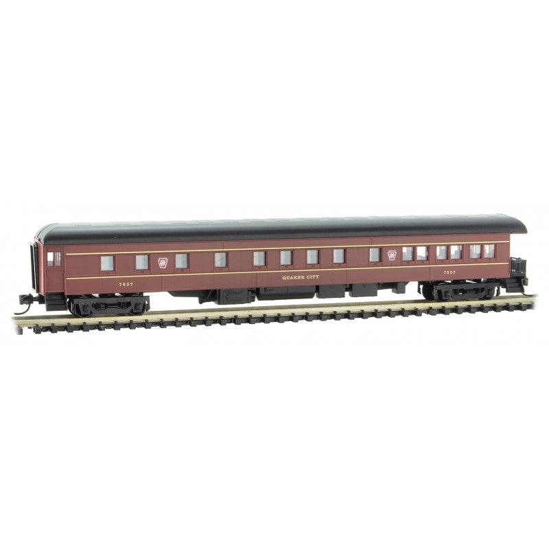 N Scale: 83' Heavyweight Observation Car - Pennsylvania