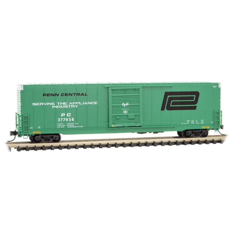 N Scale: 60' Excess Height Boxcar - Penn Central