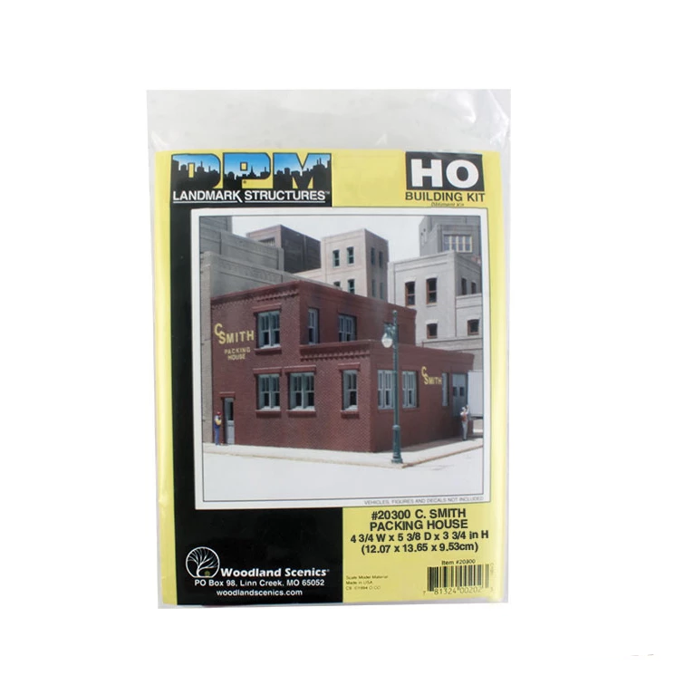 HO Scale: C. Smith Packing House - Kit