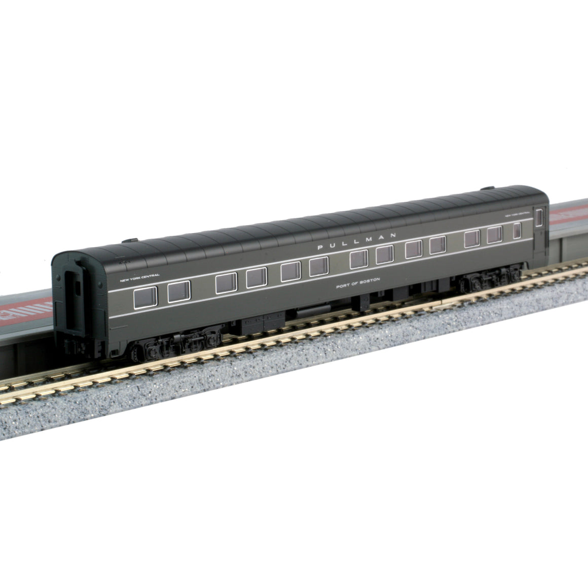 N Scale: 20th Century Limited 4-Add-On 10-6 and 12BR Sleeper Set - New York Central