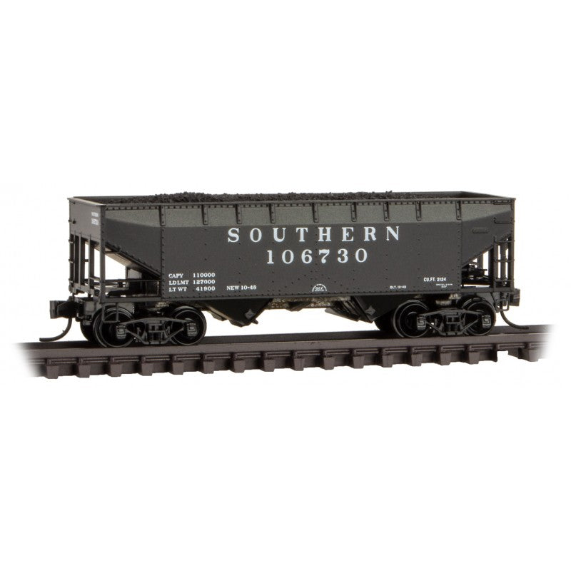 N Scale: 33' Twin Bay Hopper - Southern