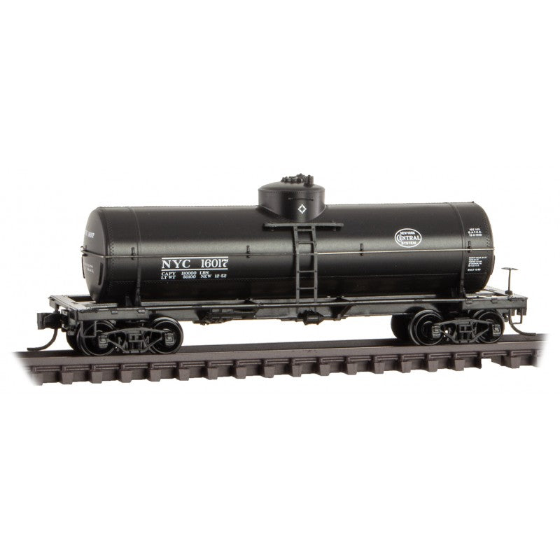 N Scale: 39' Single Dome Tank Car - New York Central