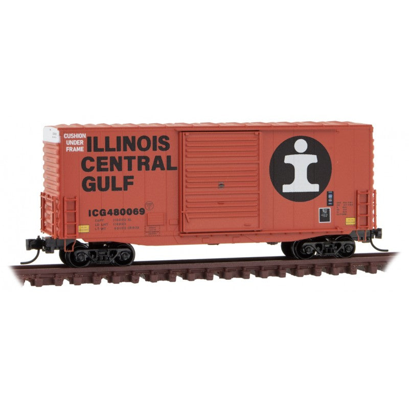 N Scale: 40' Hy-Cube Boxcar - Illinois Central Gulf