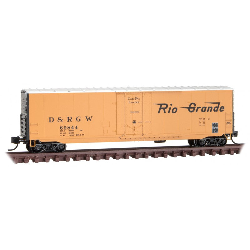 N Scale: 50' Standard Boxcar - D&RGW