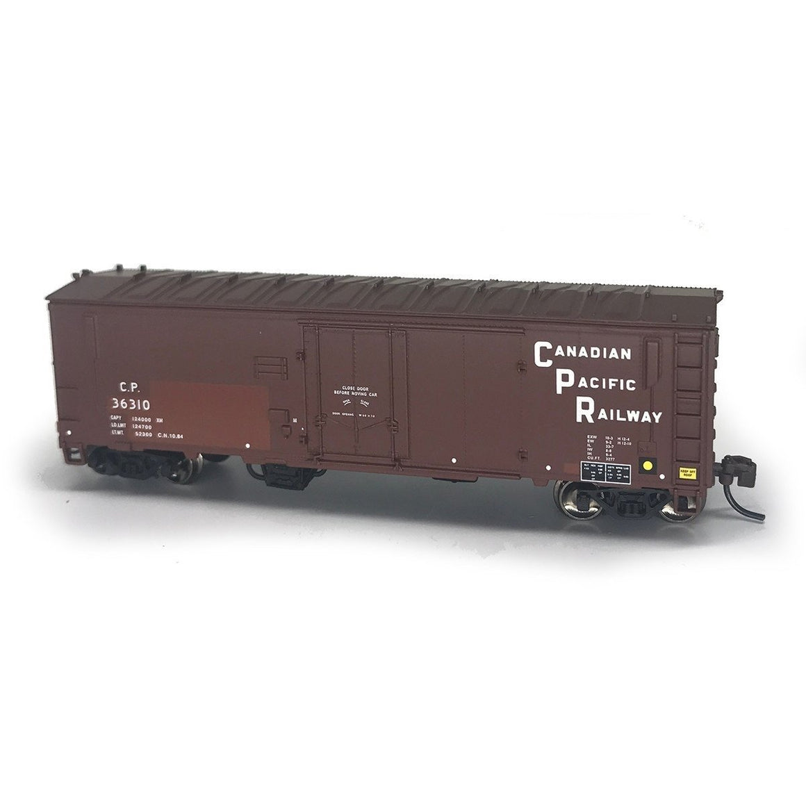 N Scale: PC&F XIH Boxcar - CP Stacked Herald