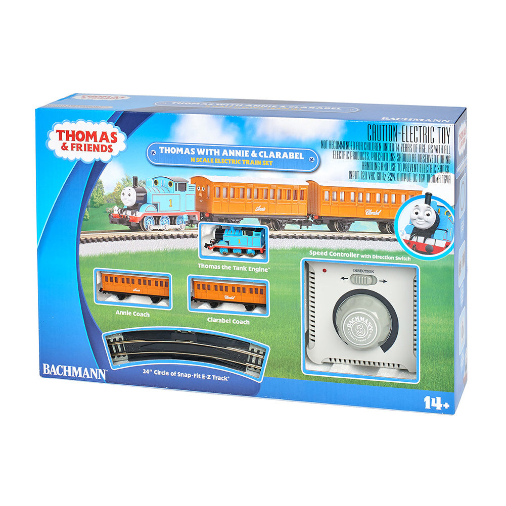 N Scale: Thomas & Friends™ - Thomas with Annie and Clarabel Train Set