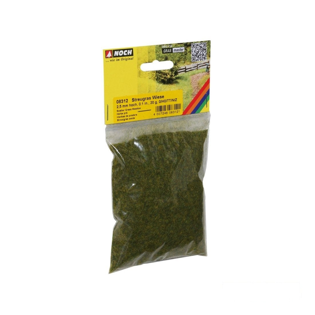 Static Grass: Noch - 2.5mm - 20g Bag
