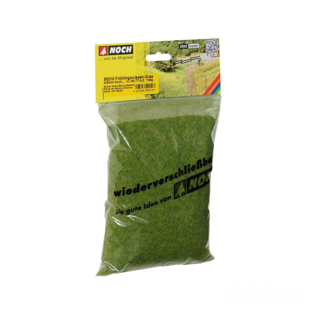 Static Grass: Noch - 2.5mm - XL Bag