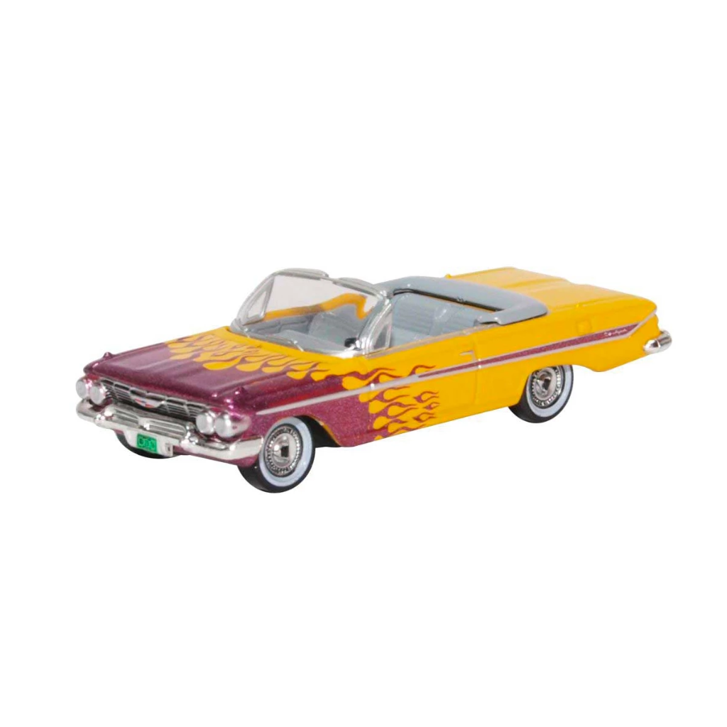 HO Scale: 1961 Chevrolet Impala Convertible - Hot Rod