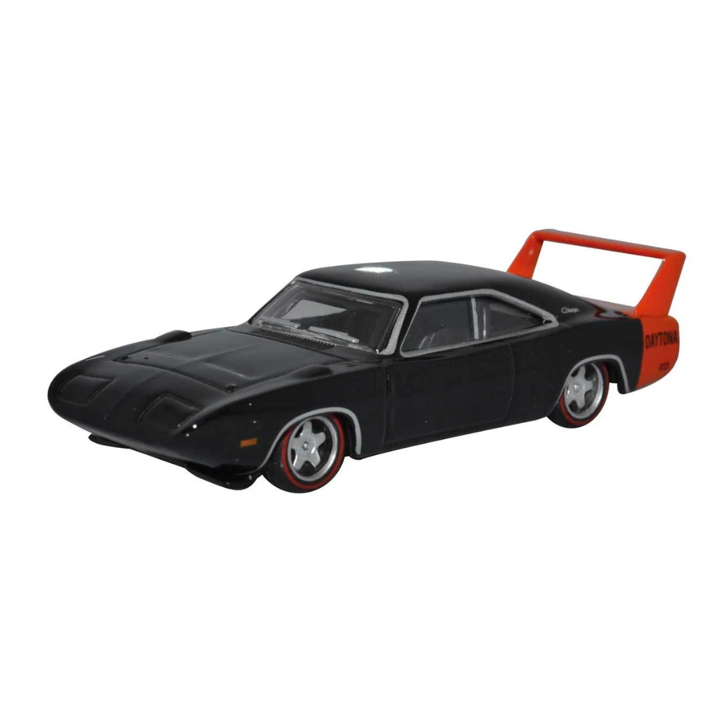 HO Scale: 1969 Dodge Charger Daytona - Black & Red