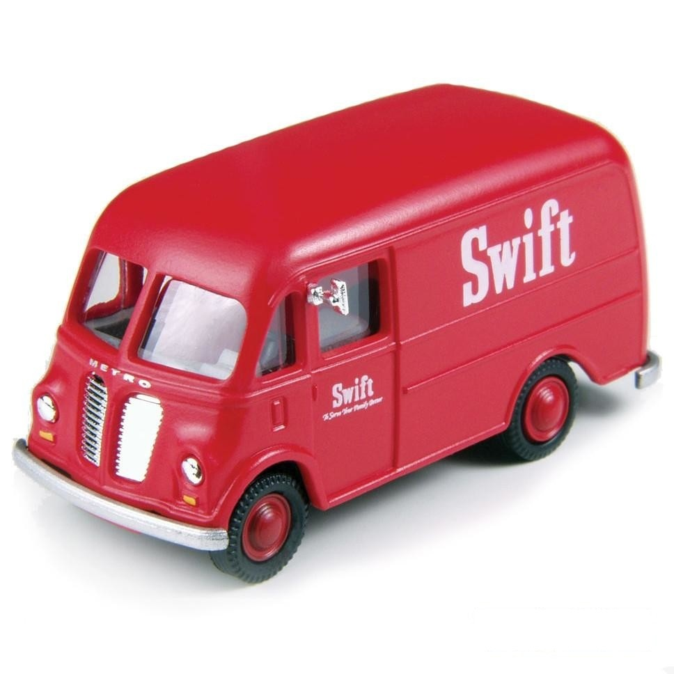 HO Scale: 1940/50s International Harvester Metro Delivery Van - Swift Meats
