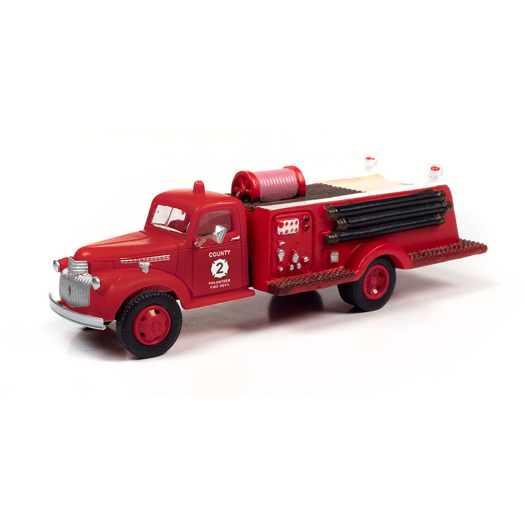 HO Scale: 1941-1946 Chevrolet Fire Truck