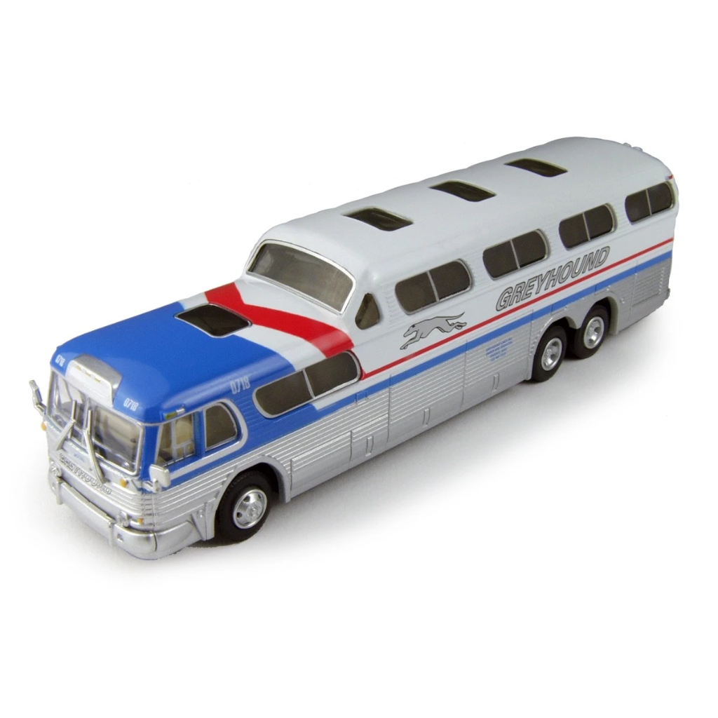 HO Scale: 1954 GMC PD4501 Scenicruiser Bus - Greyhound Undec