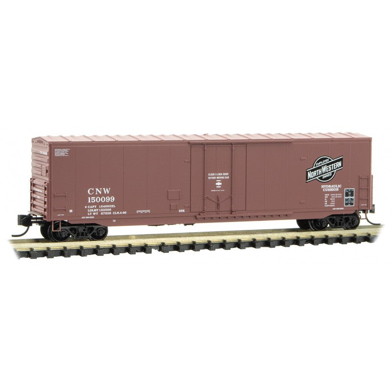 N Scale: 50' Standard Boxcar - Chicago & North Western