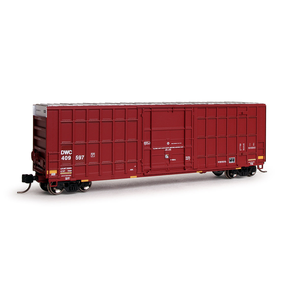 N Scale: Trinity 6275 Boxcar - Canadian National  'DWC - Nasty Graffiti'