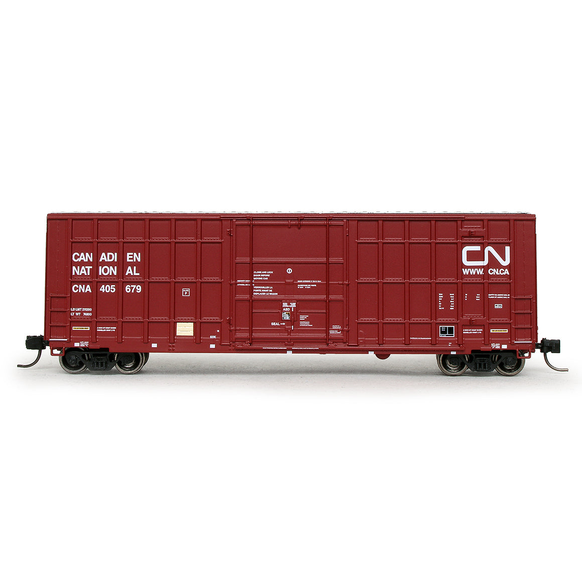 N Scale: Trinity 6275 Boxcar - Canadian National '2003 As-Delivered'