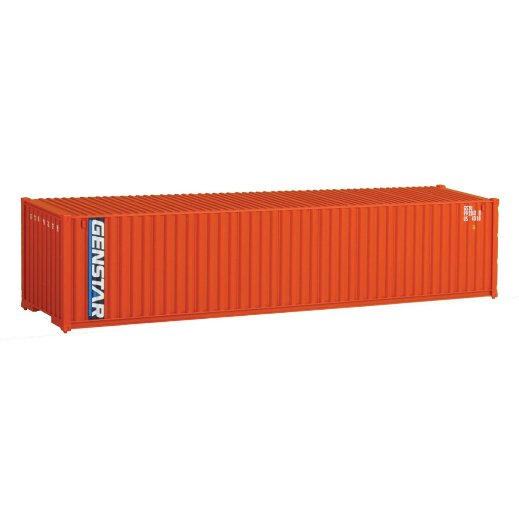 HO Scale: 40' Corrugated Container - Genstar