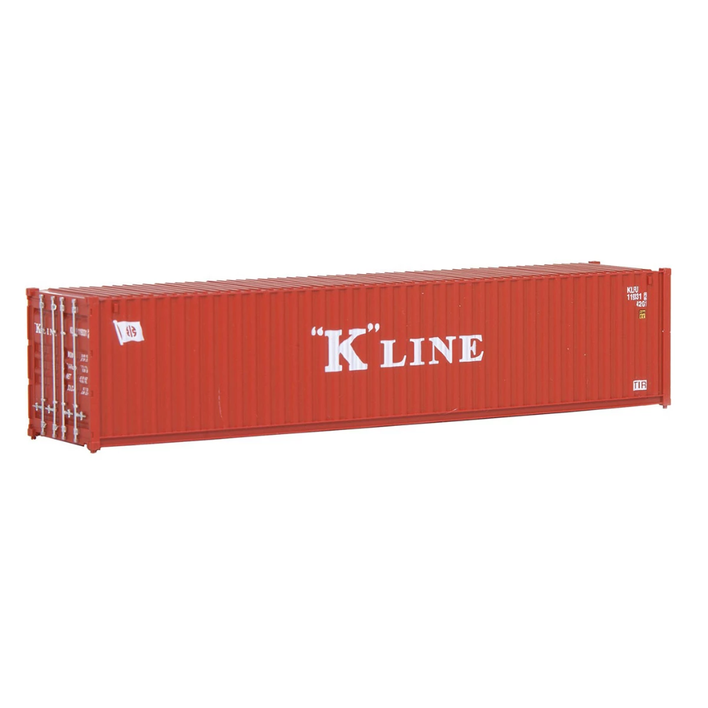 HO Scale: 40' Corrugated Container - K-Line