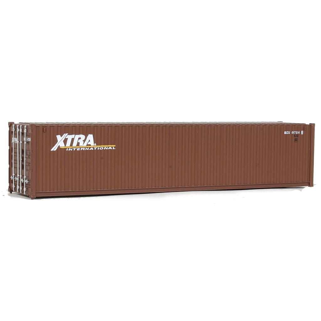 HO Scale: 40' Corrugated Container - XTRA