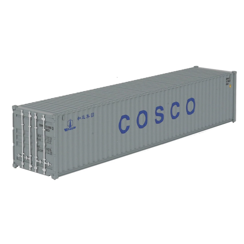 HO Scale: 40' Corrugated Container - COSCO