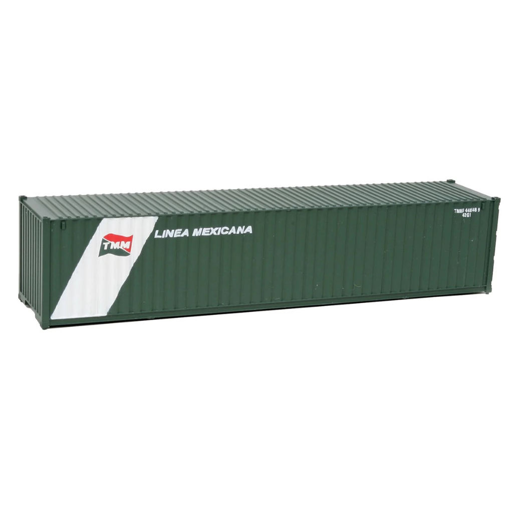 HO Scale: 40' Corrugated Container - Linea Mexicana