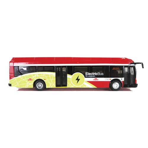 HO Scale: New Flyer Xcelsior XE40 Electric Bus - Toronto Transit Commission