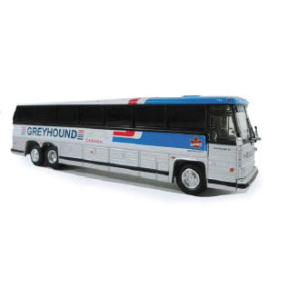 HO Scale: 1984 MCI MC-9 - Greyhound Canada