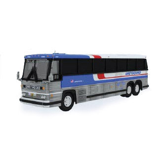 HO Scale: 1984 MCI MC-9 - Greyhound 'Americruiser'