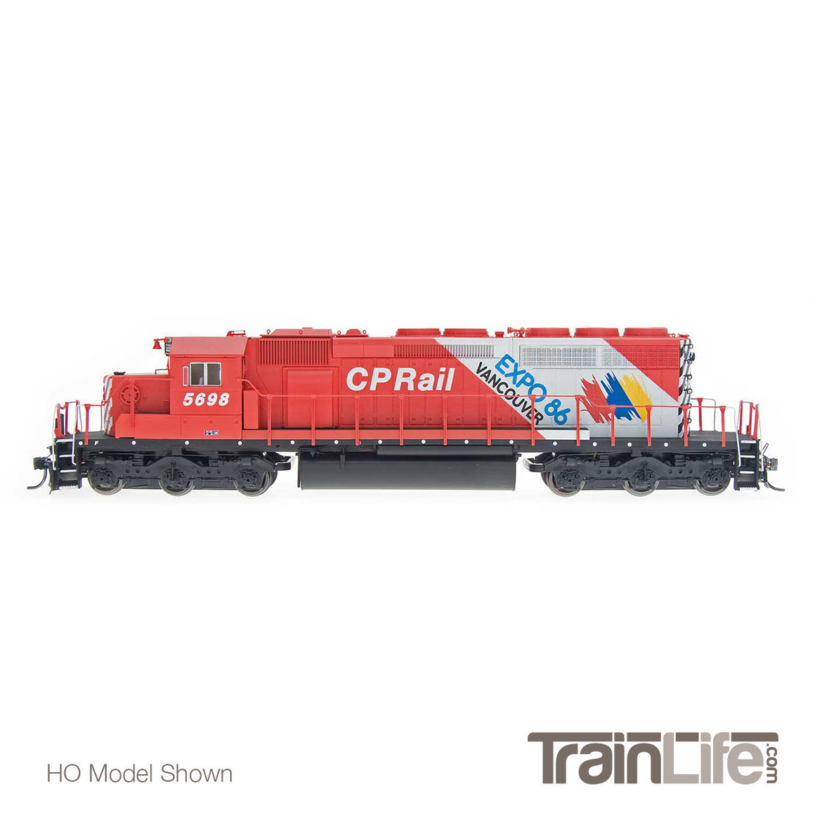 N Scale: SD40-2 w/ Sound - CP Rail