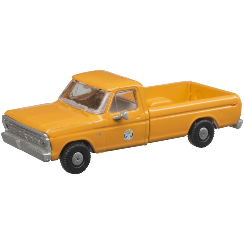 N Scale: 1973 Ford F-100 Pickup Truck - SP - 2 Pack