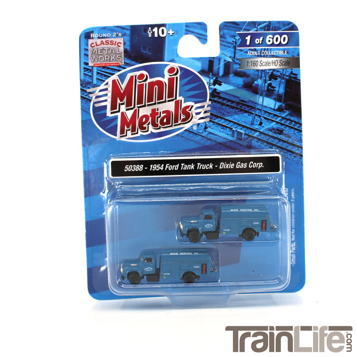 N Scale: 1954 Ford Tank Truck - Dixie Gas Corp. - 2 Pack