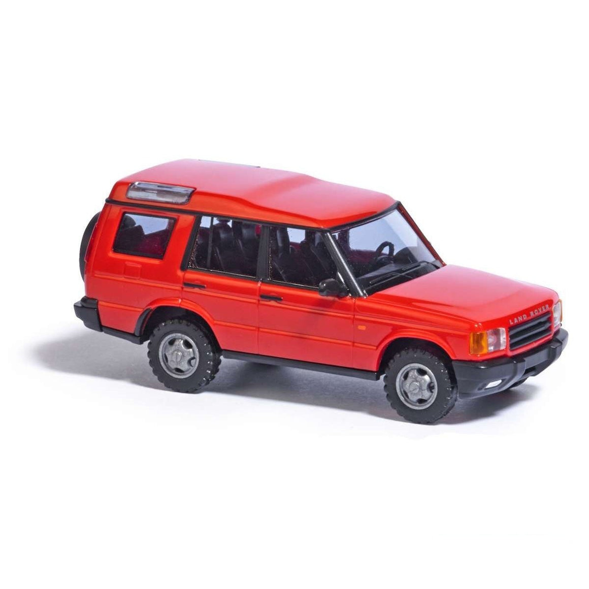 HO Scale: 1998 - 2004 Land Rover Discovery - Red