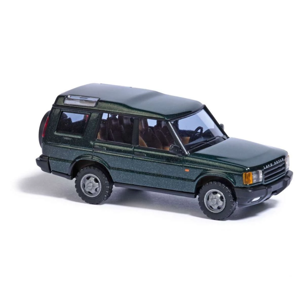 HO Scale: 1998 - 2004 Land Rover Discovery - Green