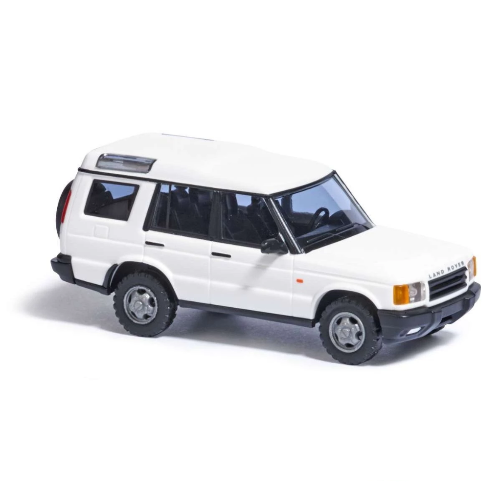 HO Scale: 1998 - 2004 Land Rover Discovery - White