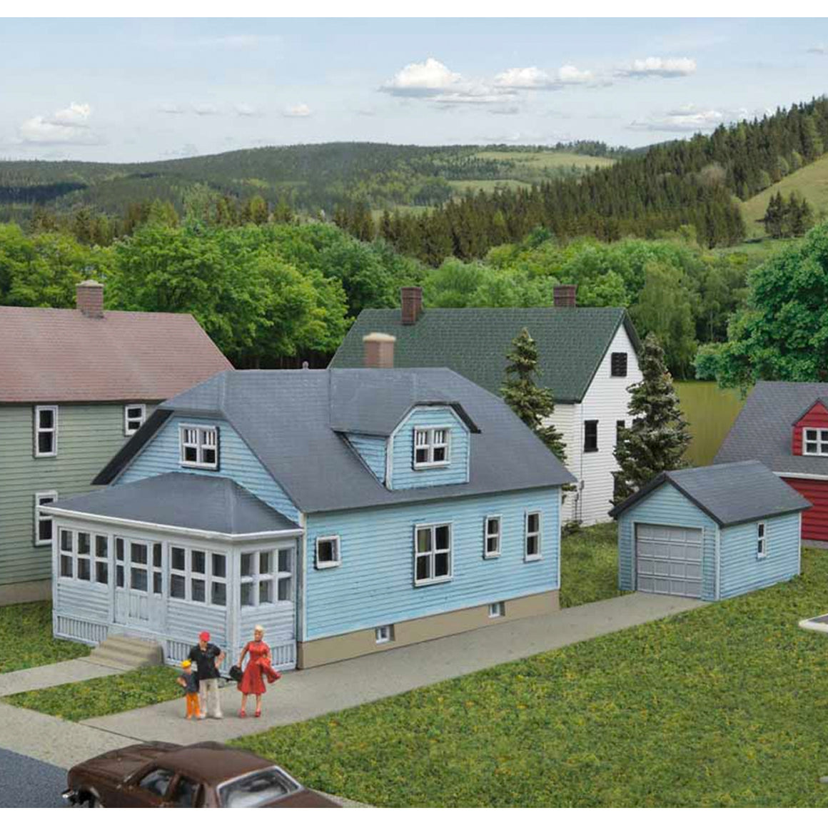 N Scale: American Bungalow - Kit